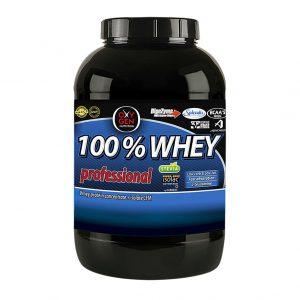 "100% WHEY protein ""Proteína concentrada & aislada de suero"""