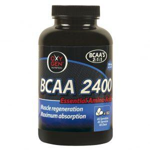 """BCAA 2400 """"ENTRENAMIENTO INTENSO Y DURADERO"""""""