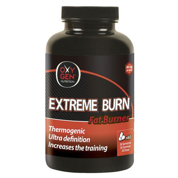 Extreme Burn Termogénico-Oxygen Nutrition