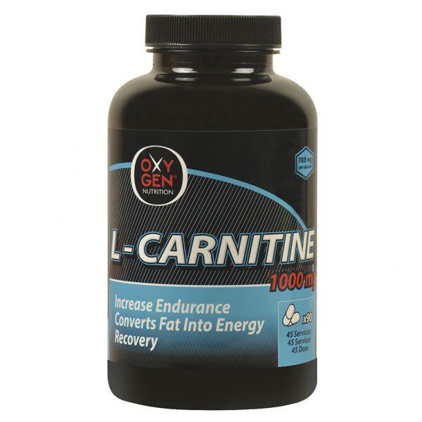 L-Carnitina-Oxygen Nutrition