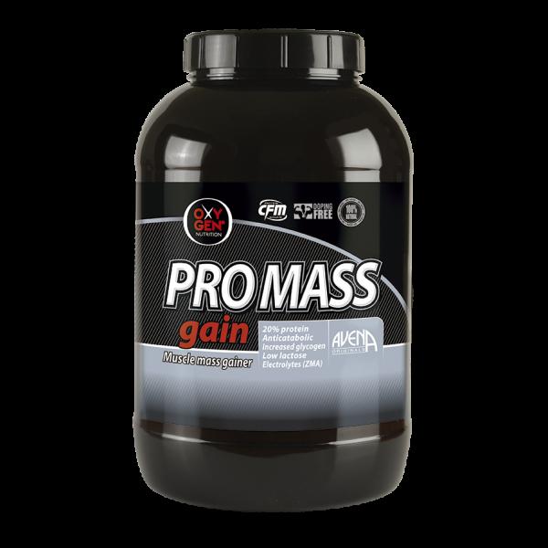 "PROMASS Gain ""AUMENTO DE MASA MUSCULAR-Oxygen Nutrition"